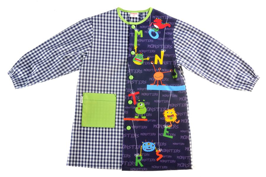 Bata escolar ni o 0715048 neus moda batas maestra babis - Babis escolares carrefour ...